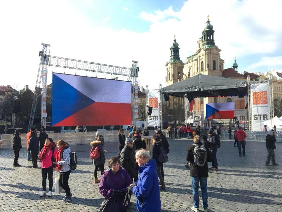 Victory Events na Staroměstském náměstí
